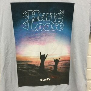 Levi's Hang Loose T Shirt Size Small